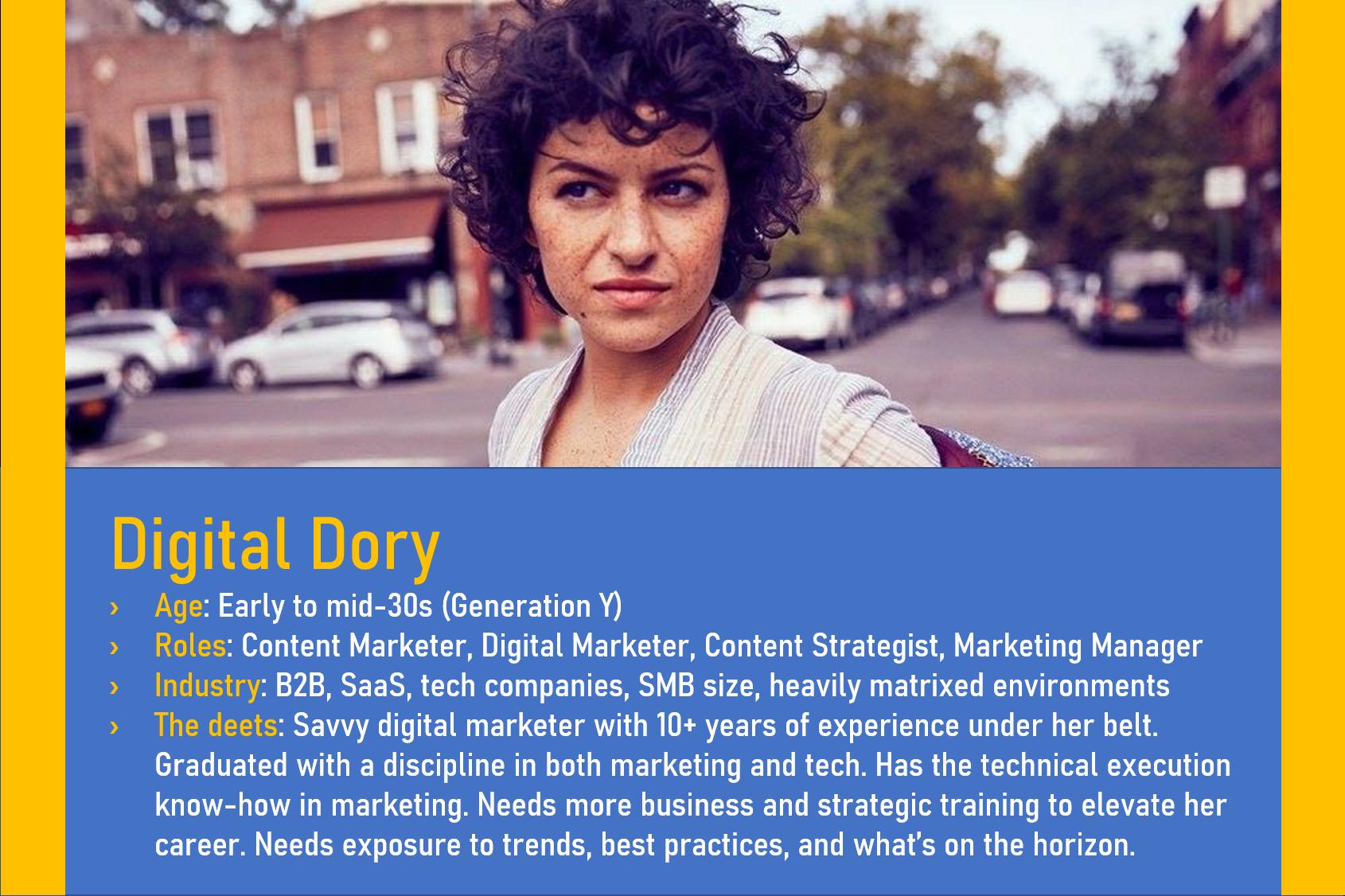 Dory Persona Segment