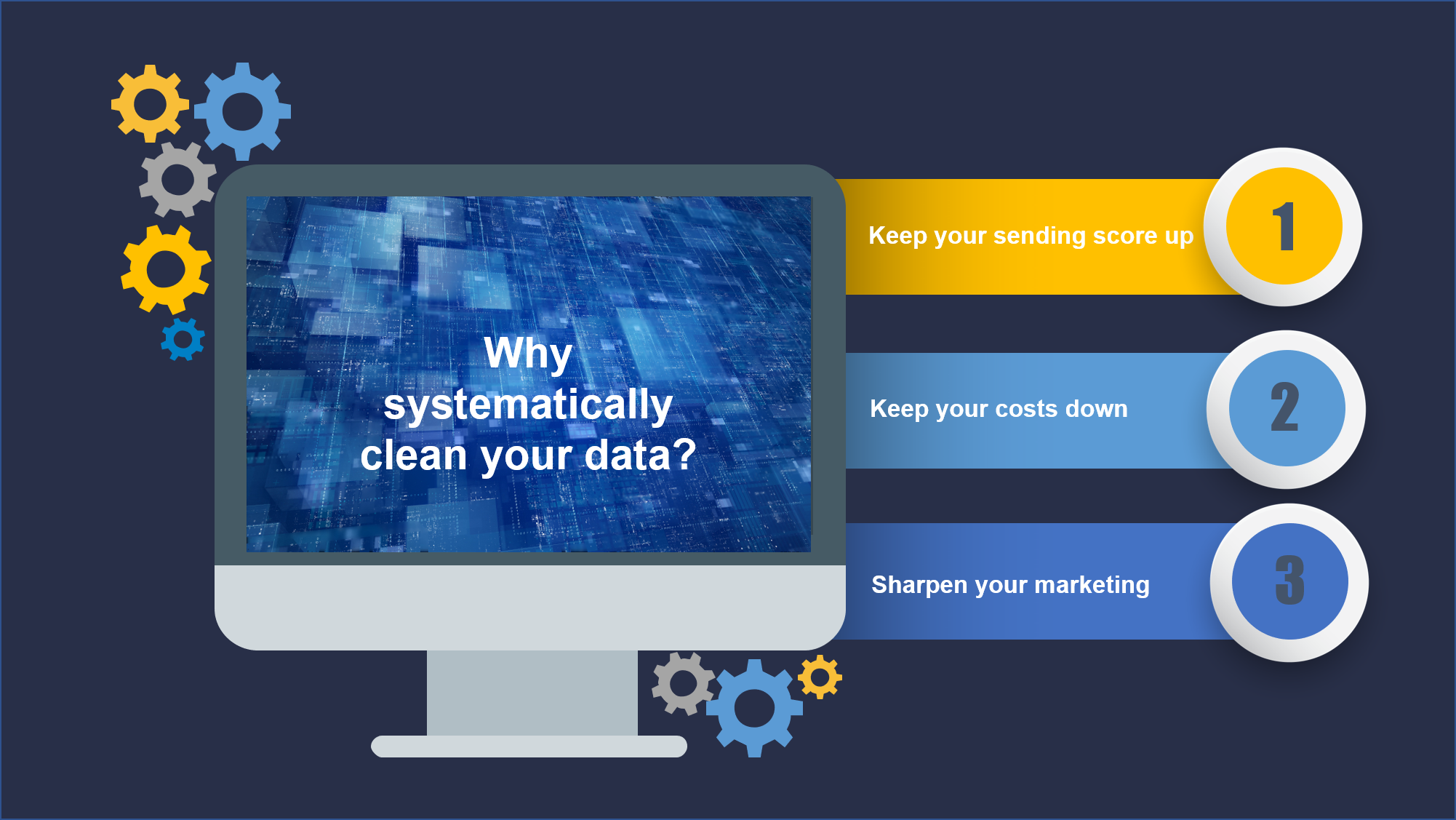 Why systematically clean your data